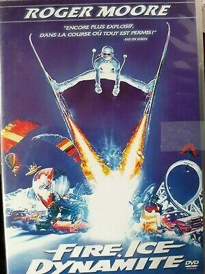 C12 DVD FIRE, ICE DYNAMITE Roger MOORE