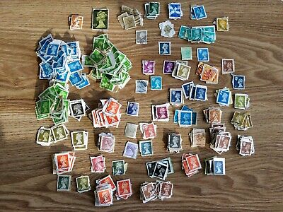 UK, World Stamp Collection - hundreds of stamps Brilliant Sorting Mixture