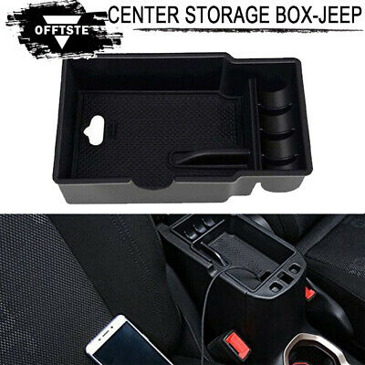 Car Center Console Armrest Box Glove Secondary Storage For Jeep Renegade 15-2017