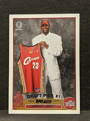 2003-04 Lebron James Topps First Edition Rookie & Complete Set