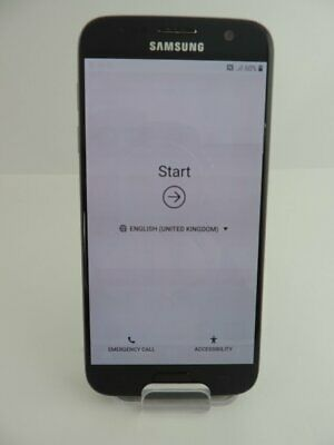 Samsung Galaxy S7 SM-G930F 32GB 12MP Android Mobile Smartphone Black Unlocked