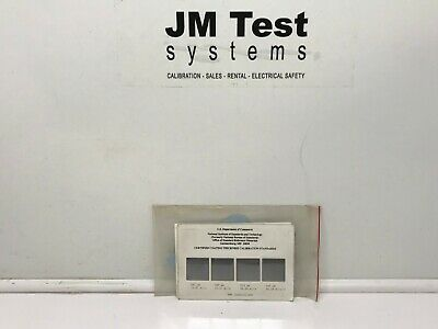 NIST Certified Coating Thickness Standard Calibration Set 1363A-91.039 BR