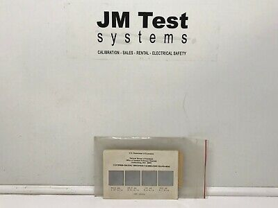 NIST Certified Coating Thickness Standard Calibration Set 1362A BR