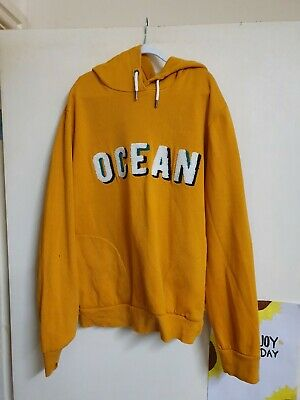 Boys mustard yellow hoodie by La Redoute age 14 yrs