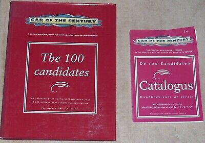 2x Book Car of the century, the 100 candidates, 1998