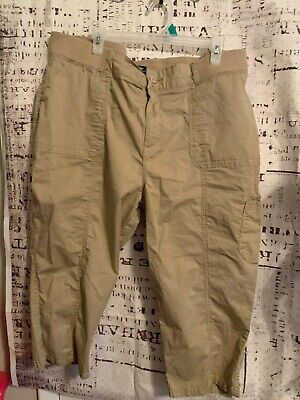 Womens Riders By Lee Mid Rise Skimmer pants Size 20W