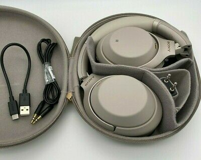 Sony WH-1000XM3 Wireless Noise Canceling Headphones - Beige - Fast Shipping