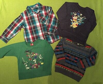 Bundle Toddler Boys Clothes Age 2-3 Years Tops Shirt Jumper No Added Sugar M&S