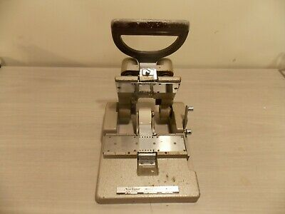 Vintage NeuTaper Film Splicer 35mm Neumade Products Corp.