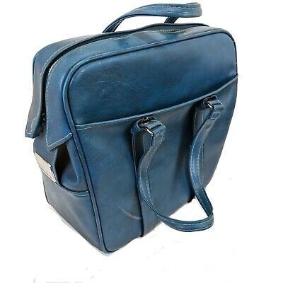 Vintage Samsonite Silhouette Carry On Soft Luggage Doctors Style Bag Distressed