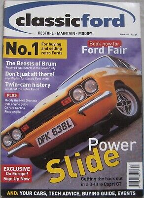 Classic Ford magazine March 2003