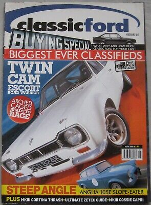 Classic Ford magazine May 2005