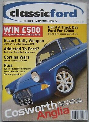 Classic Ford magazine March 2002