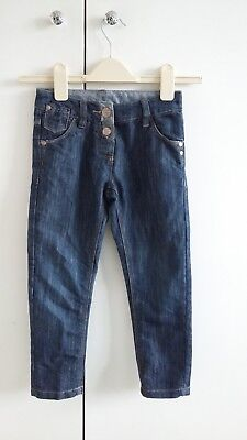 Girls Next 3/4 length denim trousers size 5 years great condition