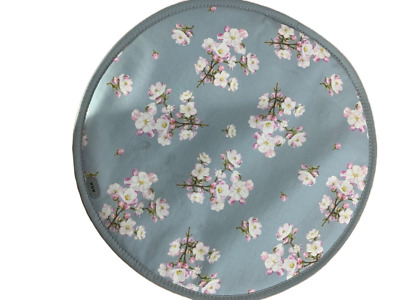 Genuine Cherry Blossom AGA Lid Covers / AGA Chefs Pads.