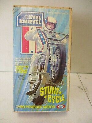 1973 Ideal Evel Knievel Stunt Cycle