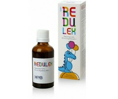 REDULEX BABY Natural Comfort Anti Colic Drops Baby Bloating Stomach Aches 50 ml