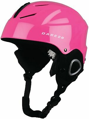 Dare2B Scudo Junior Ski Helmet Pink Size 48-53cm Kids Boys Girls Skiing Cycling