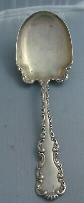 Whiting Louis XV Sterling Silver Small Casserole or Salad Serving Spoon