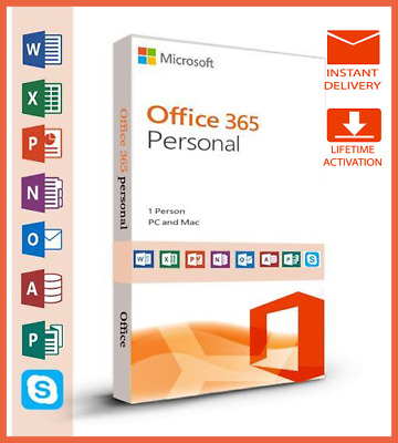 Microsoft office 365 2019/2020 PRO PLUS Licence à vie 5 devices INSTANT DELIVERY