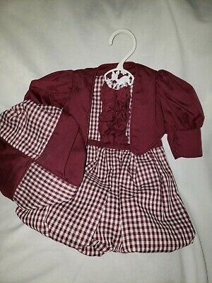 Doll Clothes pant Dress  For American Girl 18 Inch Dolls Clothes Outfit Set