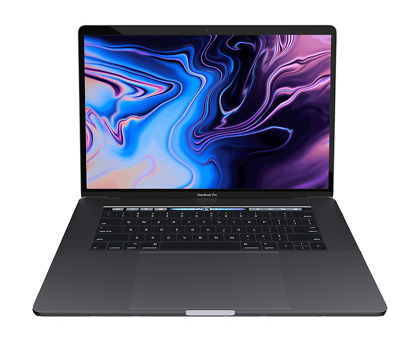 """2018 Apple 15"""" MacBook Pro 2.6GHz i7/32GB/512GB Flash/560X/Touch Bar/Space Gray"""