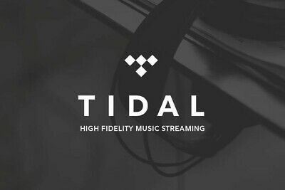 Tidal HiFi Sound Quality - Personal Account - 2 months - Warranty - Worldwide