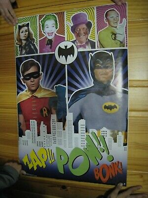 Batman Plakat Adam West Alte Schule
