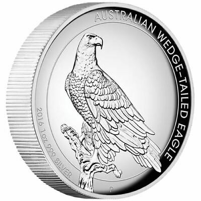 2016-P Australia Silver Wedge-Tailed Eagle High Relief Proof $1 NGC PF69 UCAM