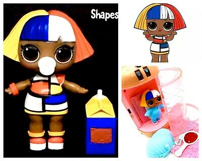 LOL Surprise Shapes Doll Sis Big Sister UnderWraps COMPLETE Authentic MGA L.O.L.