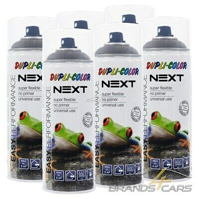 6x 400ml DUPLI COLOR NEXT ZAGREB OLIVE MATT SPRÜH DECK LACK FARBE SPRAY
