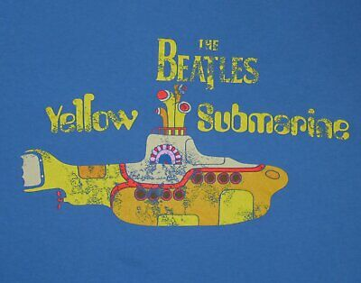 The Beatles Yellow Submarine t-shirt  S-5XL Black or Navy Short or Long Sleeves