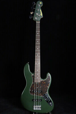 Used MOON JB-4 MB 40th Ocean Turquoise Electric Bass Guitar From Japan