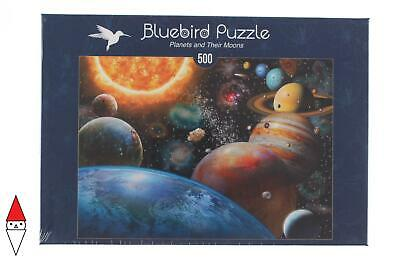 Puzzle Tematico Bluebird Spazio Planets And Their Moons 500 Pz