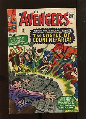The Avengers #13 (7.0) The Castle Of Count Nefaria