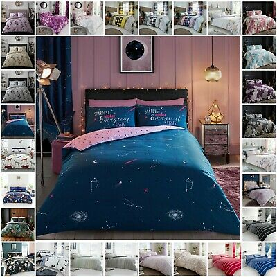 Duvet Cover Sets with Pillowcases Single Double King Super King Size Quilt Cover