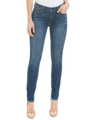 Alice + Olivia Good Secret Meeting Mid-Rise Skinny Leg Women's Blue 26