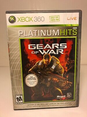 Gears of War - Two-Disc Edition (Microsoft Xbox 360, 2008)