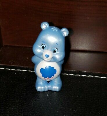 """Just Play Care Bears Grumpy Bear Series 3 Pearlized Edition 2"""" Figure Blind Blue"""