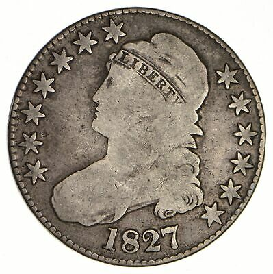 1827 Capped Bust Half Dollar - Circulated *0083
