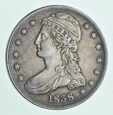 1838 Capped Bust Half Dollar *6113
