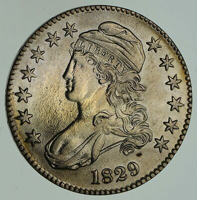 1829 Capped Bust Half Dollar - Not Circulated *4635
