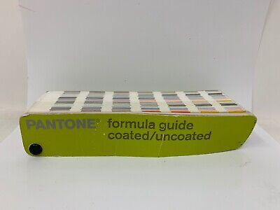 Pantone 1st edition 2000-2001 Formula Guide Solid Coated/Uncoated