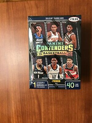 19-20 Panini Contenders NBA Basketball Cards Blaster Box Factory Sealed
