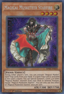 Magical Musketeer Starfire - DUOV - Ultra Rare Yugioh Preorder Duel Overload