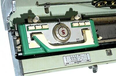 Singer Model 666 Vintage Knitting Machine Sewing Rare Collectible Retro crafts