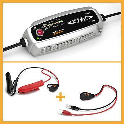 Ctek Mxs 5.0 Battery Charger 12V Temperature Compensation + Leadbatteries
