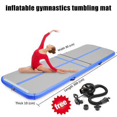 GoFun Airtrack Air Track Pump Floor Home Inflatable Gymnastics Tumbling Mat GYM
