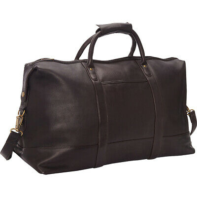 Le Donne Leather Classic Duffle 3 Colors Travel Duffel NEW