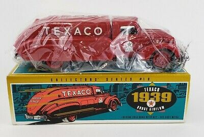 Texaco 1939 Dodge Airflow Fuel Truck/Tank Money Bank Die-cast Metal #9500 (1993)